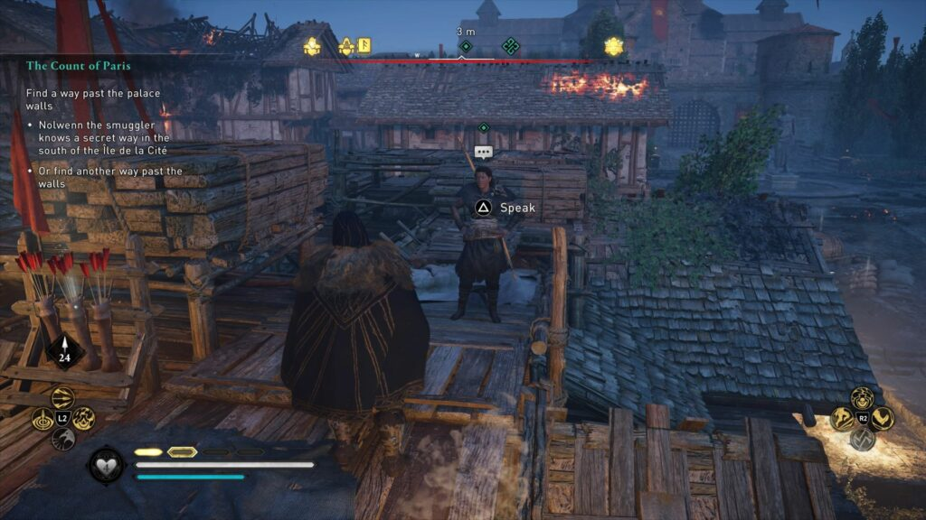 Assassin's Creed Valhalla: The Count Of Paris quest guide