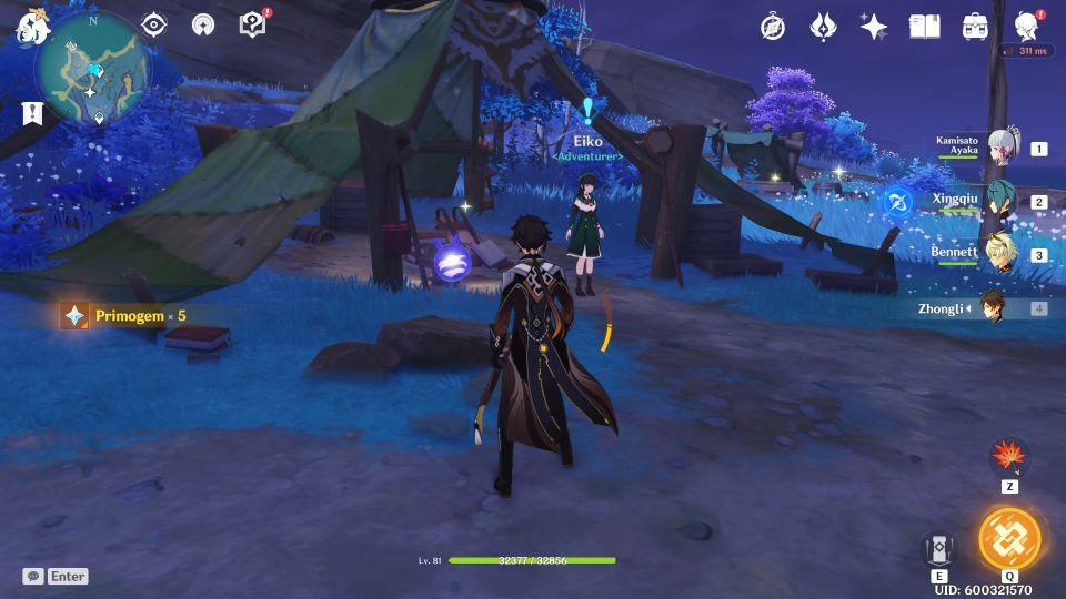 Genshin Impact: Seirai Stormchasers Quest